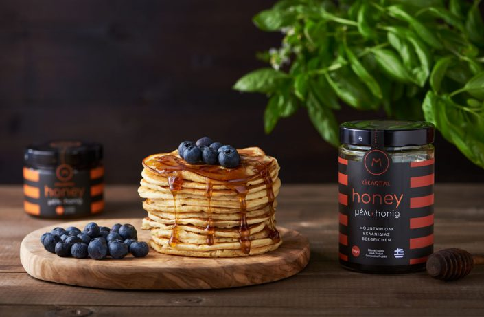 pancakes with greek honey food greek photographer