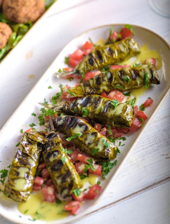 Stuffed sardines with herbs