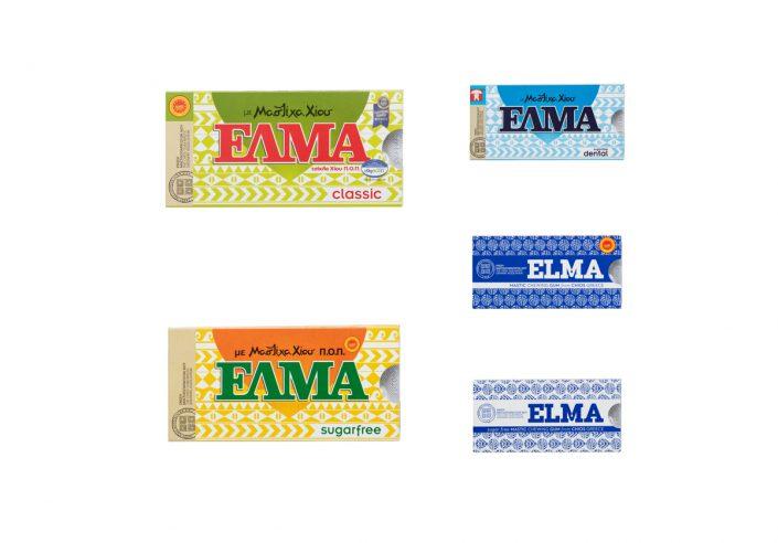 packshot elma mastic gum