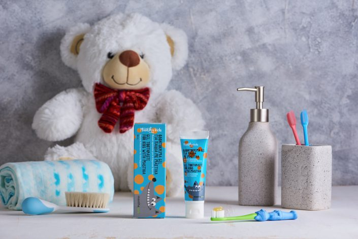 Toothpaste for kids with Chios Mastiha